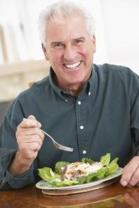 healthy, vital senior