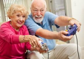 computer gaming seniors