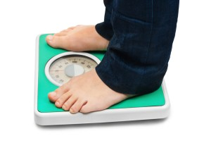 weight loss scale feet