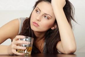 alcohol woman