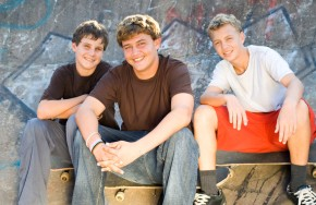 teens friends boys