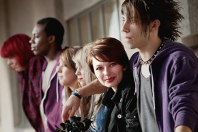 teens friends punk